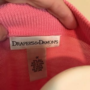 draper and damons Tops - Drapers and Damon's silk and cotton top